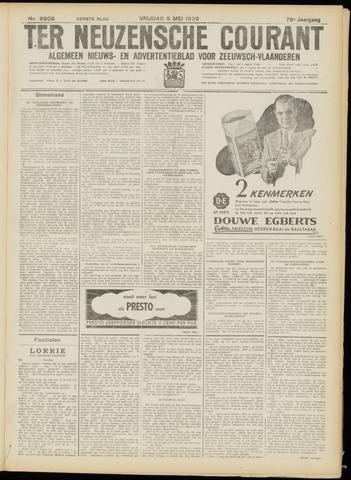 Ter Neuzensche Courant. Algemeen Nieuws- en Advertentieblad voor Zeeuwsch-Vlaanderen / Neuzensche Courant ... (idem) / (Algemeen) nieuws en advertentieblad voor Zeeuwsch-Vlaanderen 1939-05-05