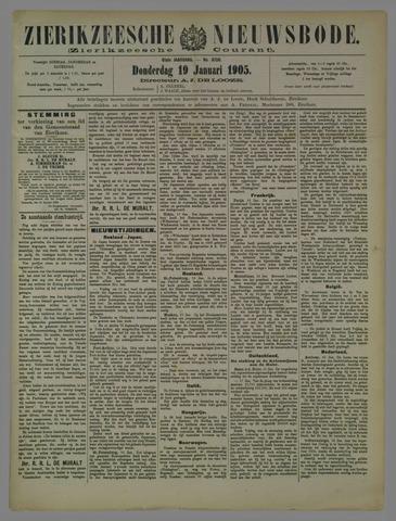 Zierikzeesche Nieuwsbode 1905-01-19