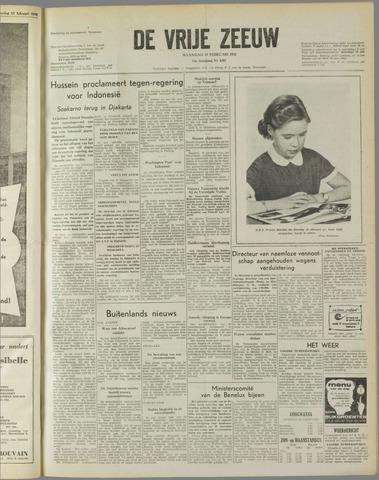 de Vrije Zeeuw 1958-02-17