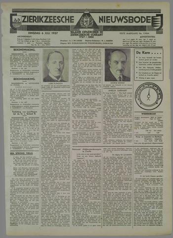 Zierikzeesche Nieuwsbode 1937-07-06