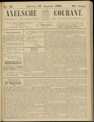 Axelsche Courant 1903-08-22
