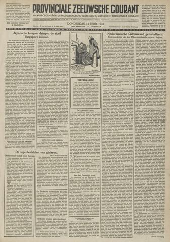 Provinciale Zeeuwse Courant 1942-02-12