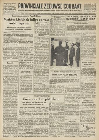 Provinciale Zeeuwse Courant 1951-07-12