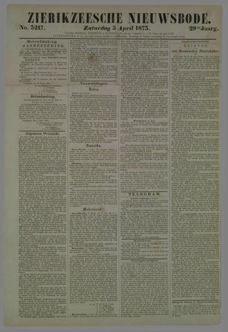Zierikzeesche Nieuwsbode 1873-04-05