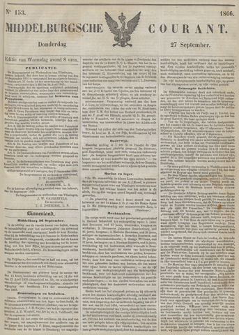 Middelburgsche Courant 1866-09-27