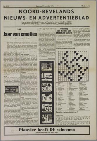 Noord-Bevelands Nieuws- en advertentieblad 1966-12-31