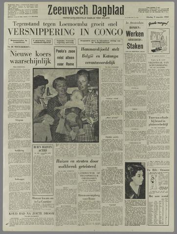 Zeeuwsch Dagblad 1960-08-09