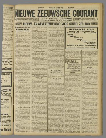 Nieuwe Zeeuwsche Courant 1926-10-30