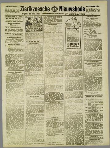 Zierikzeesche Nieuwsbode 1924-05-23