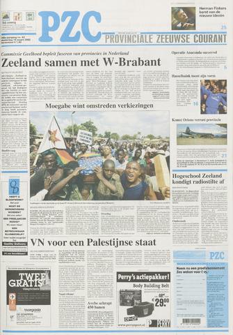 Provinciale Zeeuwse Courant 2002-03-14