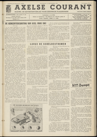 Axelsche Courant 1960-12-17