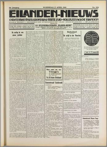Eilanden-nieuws. Christelijk streekblad op gereformeerde grondslag 1940-04-17