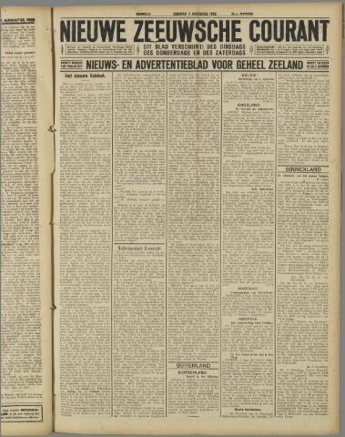 Nieuwe Zeeuwsche Courant 1925-08-04