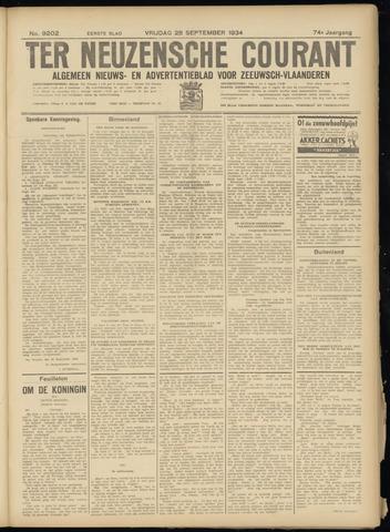 Ter Neuzensche Courant. Algemeen Nieuws- en Advertentieblad voor Zeeuwsch-Vlaanderen / Neuzensche Courant ... (idem) / (Algemeen) nieuws en advertentieblad voor Zeeuwsch-Vlaanderen 1934-09-28