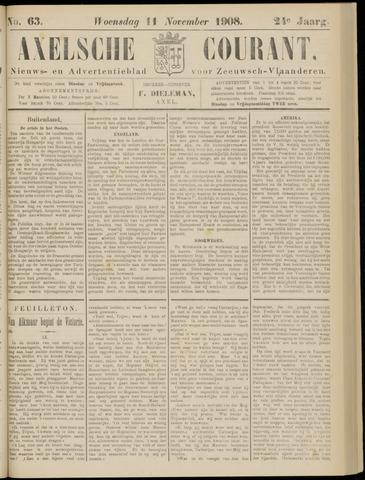 Axelsche Courant 1908-11-11