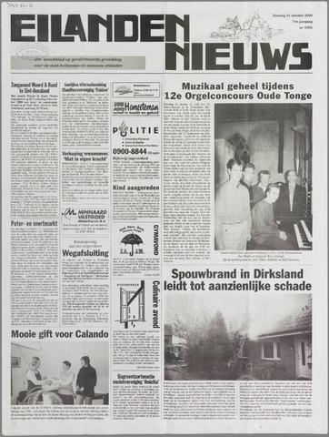 Eilanden-nieuws. Christelijk streekblad op gereformeerde grondslag 2000-10-31