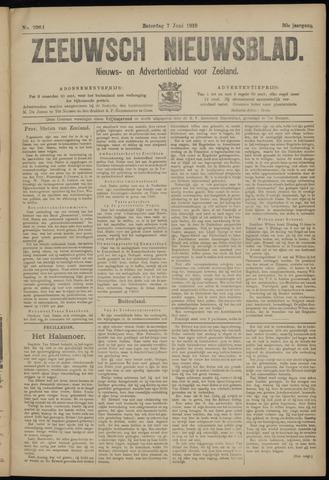 Ter Neuzensch Volksblad. Vrijzinnig nieuws- en advertentieblad voor Zeeuwsch- Vlaanderen / Zeeuwsch Nieuwsblad. Nieuws- en advertentieblad voor Zeeland 1919-06-07