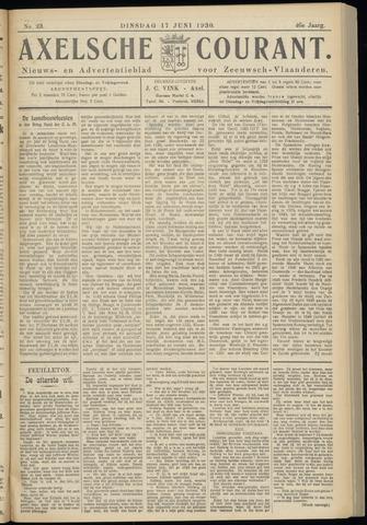 Axelsche Courant 1930-06-17