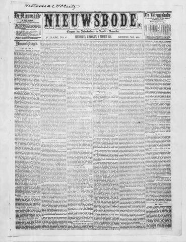 Sheboygan Nieuwsbode 1858-03-09