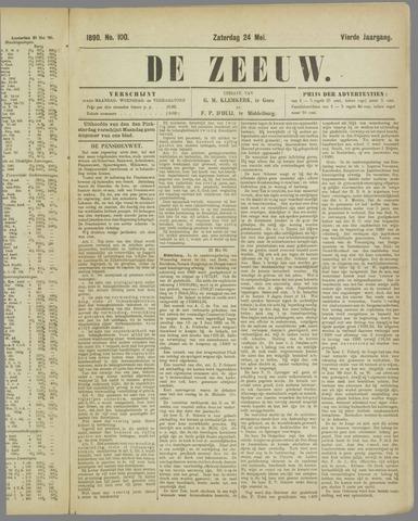 De Zeeuw. Christelijk-historisch nieuwsblad voor Zeeland 1890-05-24