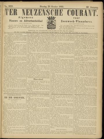 Ter Neuzensche Courant. Algemeen Nieuws- en Advertentieblad voor Zeeuwsch-Vlaanderen / Neuzensche Courant ... (idem) / (Algemeen) nieuws en advertentieblad voor Zeeuwsch-Vlaanderen 1895-10-29