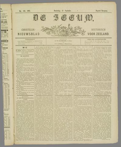 De Zeeuw. Christelijk-historisch nieuwsblad voor Zeeland 1895-09-12