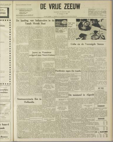 de Vrije Zeeuw 1962-08-27