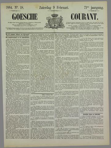 Goessche Courant 1884-02-09