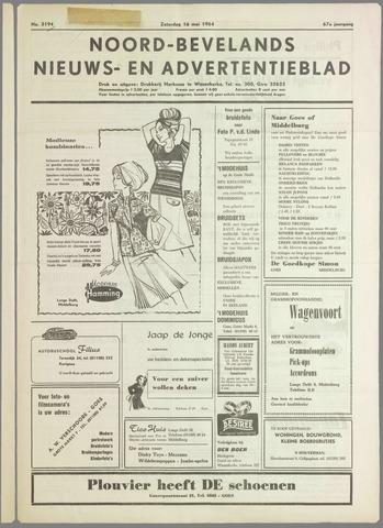 Noord-Bevelands Nieuws- en advertentieblad 1964-05-16