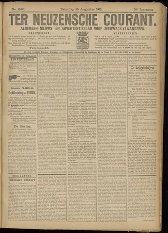 Ter Neuzensche Courant. Algemeen Nieuws- en Advertentieblad voor Zeeuwsch-Vlaanderen / Neuzensche Courant ... (idem) / (Algemeen) nieuws en advertentieblad voor Zeeuwsch-Vlaanderen 1916-08-26