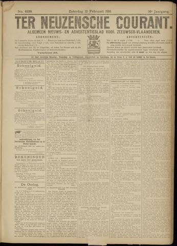 Ter Neuzensche Courant. Algemeen Nieuws- en Advertentieblad voor Zeeuwsch-Vlaanderen / Neuzensche Courant ... (idem) / (Algemeen) nieuws en advertentieblad voor Zeeuwsch-Vlaanderen 1916-02-12