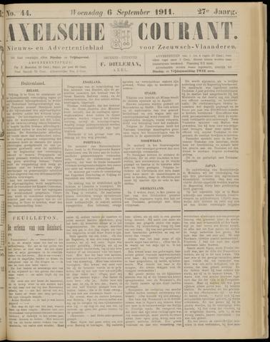 Axelsche Courant 1911-09-06