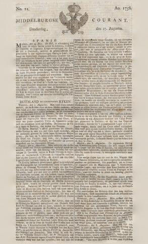 Middelburgsche Courant 1758-08-17