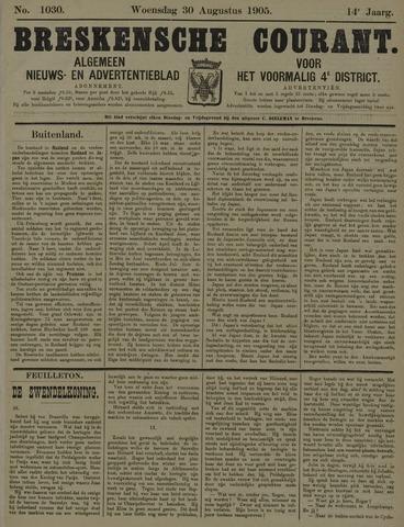 Breskensche Courant 1905-08-30