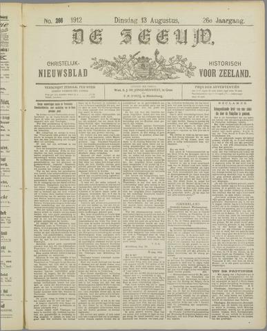 De Zeeuw. Christelijk-historisch nieuwsblad voor Zeeland 1912-08-13