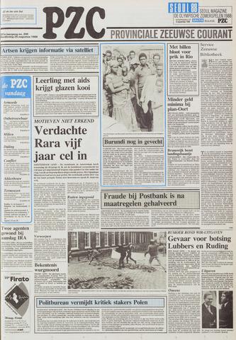 Provinciale Zeeuwse Courant 1988-08-25