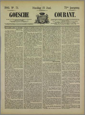 Goessche Courant 1885-06-23