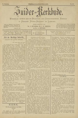 Zuider Kerkbode, Weekblad gewijd aan de belangen der gereformeerde kerken in Zeeland, Noord-Brabant en Limburg. 1897-08-13