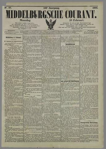 Middelburgsche Courant 1893-02-13