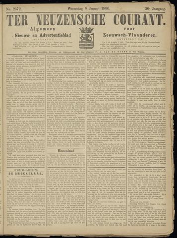 Ter Neuzensche Courant. Algemeen Nieuws- en Advertentieblad voor Zeeuwsch-Vlaanderen / Neuzensche Courant ... (idem) / (Algemeen) nieuws en advertentieblad voor Zeeuwsch-Vlaanderen 1890-01-08