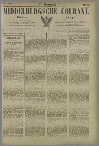Middelburgsche Courant 1888-04-24