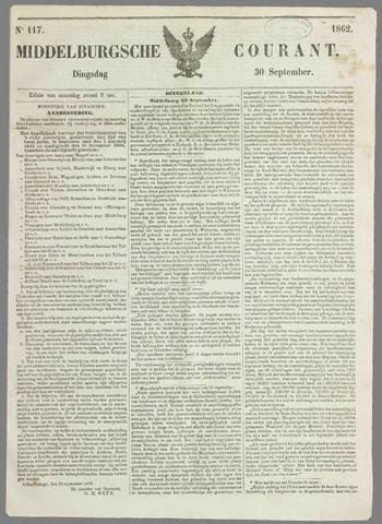 Middelburgsche Courant 1862-09-30