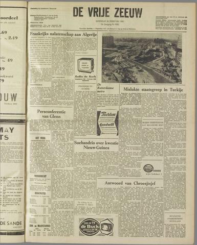 de Vrije Zeeuw 1962-02-24