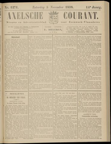 Axelsche Courant 1898-11-05