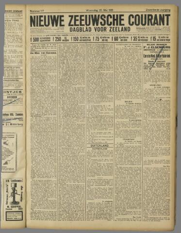 Nieuwe Zeeuwsche Courant 1921-05-25