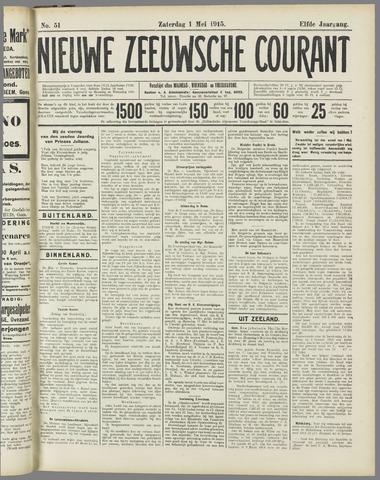 Nieuwe Zeeuwsche Courant 1915-05-01