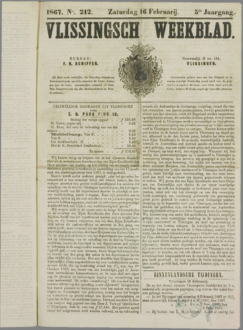 Vlissings Weekblad 1867-02-16