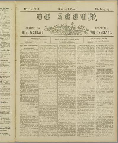 De Zeeuw. Christelijk-historisch nieuwsblad voor Zeeland 1904-03-01