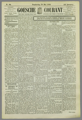 Goessche Courant 1924-05-29