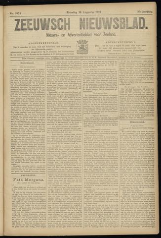 Ter Neuzensch Volksblad. Vrijzinnig nieuws- en advertentieblad voor Zeeuwsch- Vlaanderen / Zeeuwsch Nieuwsblad. Nieuws- en advertentieblad voor Zeeland 1919-08-16